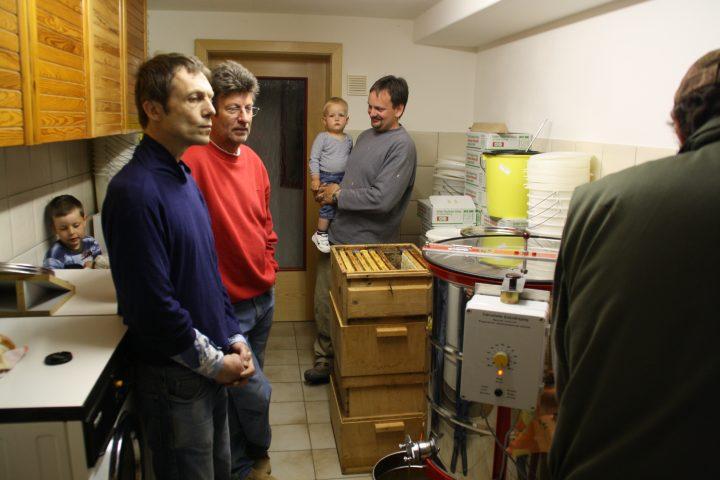 Probeimkern 2009 - Schleudern